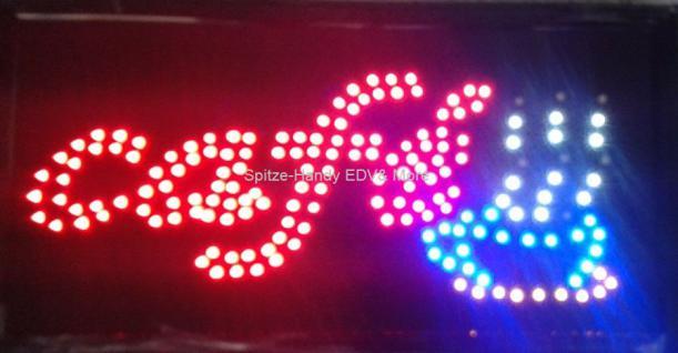 Cafe LED Leucht reklame Display Werbung - Vorschau 2