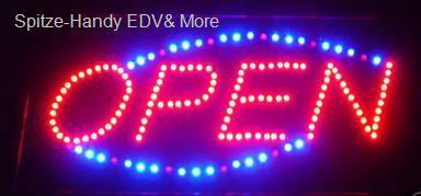 OPEN LED Leucht reklame Anzeige tafel Display neu - Vorschau 2