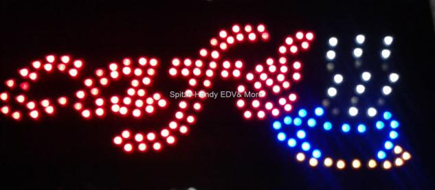 Cafe LED Leucht reklame Display Werbung - Vorschau 3