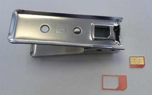 Nano - SIM Stanz gerät iPad iPhone Cutter - Vorschau 2