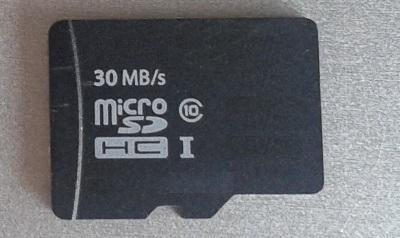 Micro SD- HC Speicher karte 16 GB Kapazität