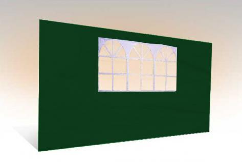 Seitenteil 4m für 3x4m Klapp Pavillon Falt zelt
