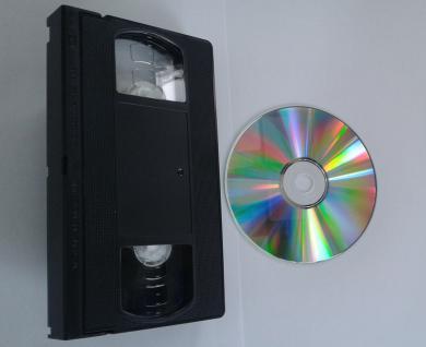 VHS Digitalisierung; Kopieren von VHS auf DVD - Vorschau 1