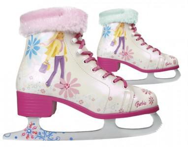 Barbie Schlitt schuhe Ice Skates Gr. 28
