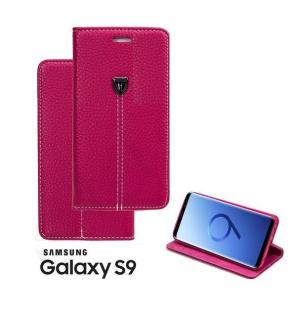 Tasche Book style für Samsung Galaxy S9 pink