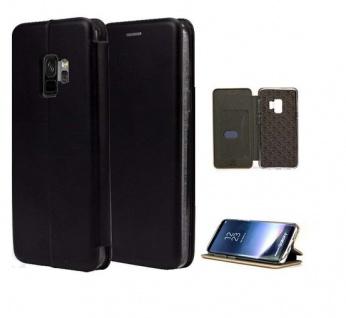 Tasche Book style für Samsung Galaxy S9 schwarz