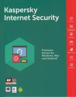 Schutz Software Internet Security 2018 Box