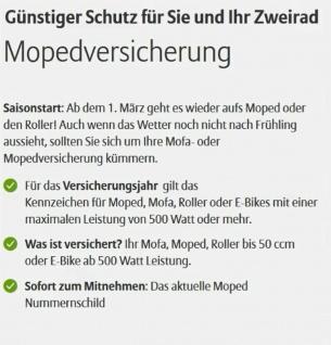 Moped Kenn zeichen 2020/ 2021 Schild für Mofa Elektro- Roller Segway Quad - Vorschau 2