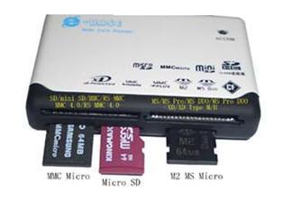 All- in- One Karten Leser- USB Adapter Card Reader