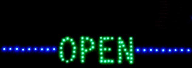 FAHRSCHULE LED Werbe Leucht reklame 70x30 cm Display - Vorschau 4