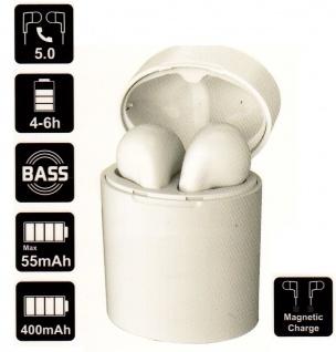 WIRE LESS Bluetooth HEAD SET kabel los mit aufladbarer Lade schale