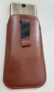 Smart Phone Leder Steck Tasche Case Universal - Vorschau 2