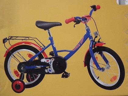 Kinder Fahrrad Rad mit 16 Zoll Rädern - Vorschau 1
