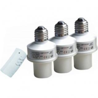 fern bedienbare Lampen fassung mit Dimmer SET - Vorschau 1