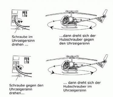 RC Metall HELICOPTER 51cm Gyro Hub schrauber 3Kanal+ Flug stabilisator - Vorschau 4