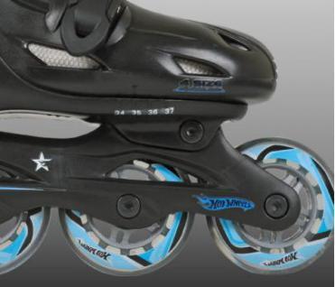 Inline Skate Kinder Rollschuhe HOT WHEEL 27-30 - Vorschau 3