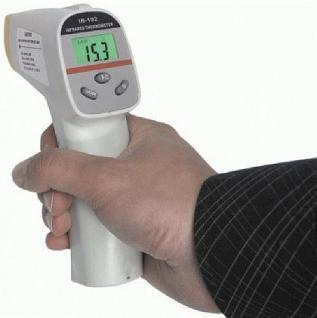 Profi Infrarot- Thermometer mit Laser justierung