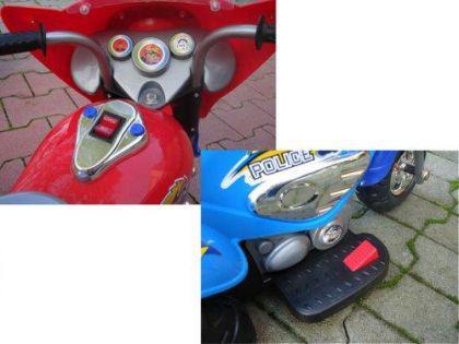 Elektro Motor- Dreirad für Kinder mit Hupe und Akku - Vorschau 4