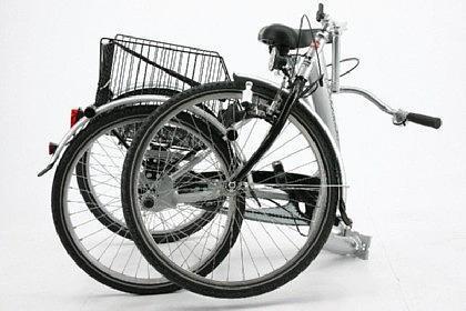 Senioren DREI RAD Tief einsteiger Fahrrad klapp bar Therapie Rad - Vorschau 3
