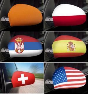 Auto- Spiegel- Flagge Alle LÄnder Fahnen Country Flag - Vorschau 2
