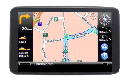 Navigon Auto Navigation+ 38 Länder Europa Karten - Vorschau 1