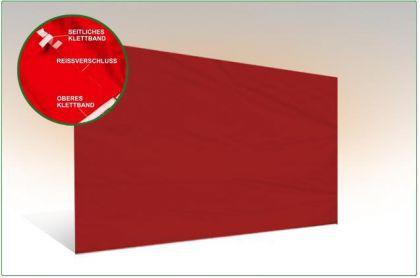 Seiten wand 3m OHNE FENSTER für Messe Faltzelt 3x3m Pavillon