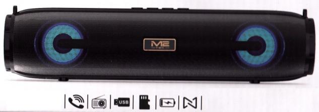 Tragbare Bluetooth Laut sprecher MUSIK BOX mit Radio+ USB