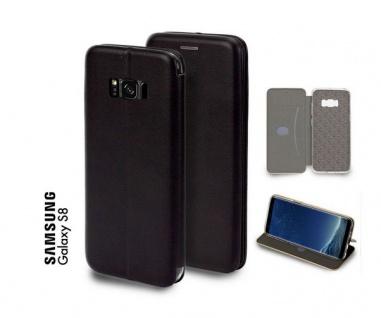 Tasche Book style für Samsung Galaxy S8 schwarz