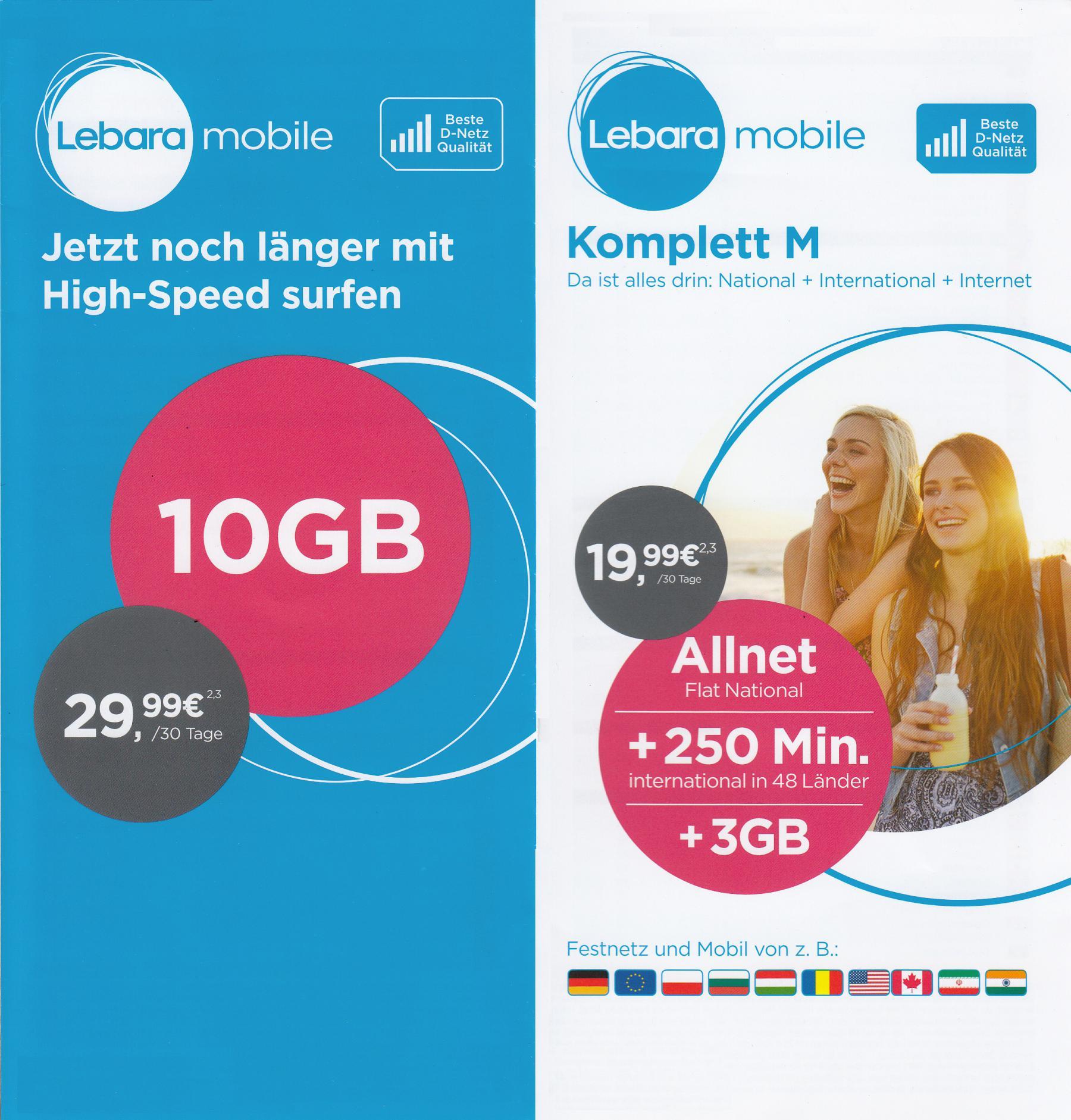 prepaid karte mit internet Prepaid Karte mit bis 50 GB Internet; kostenfrei telefonieren in D