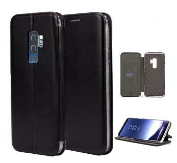 Tasche Book style für Samsung Galaxy S9 Plus schwarz