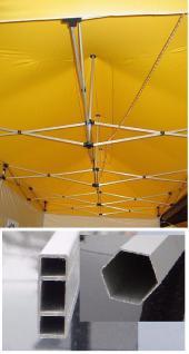 Messe Faltzelt Classic 3x3m Pavillon in 10Farben - Vorschau 4