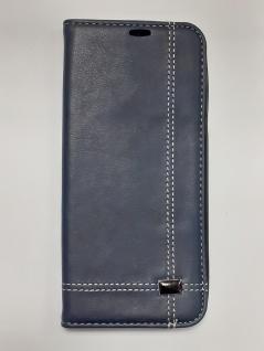 LEDER Leder TASCHE für Samsung Galaxy S8 plus braun