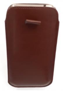 Smart Phone Leder Steck Tasche Case Universal - Vorschau 3