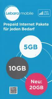 Prepaid Karte mit bis 50 GB Internet; kostenfrei telefonieren in D-Netz Qualität - Vorschau 2