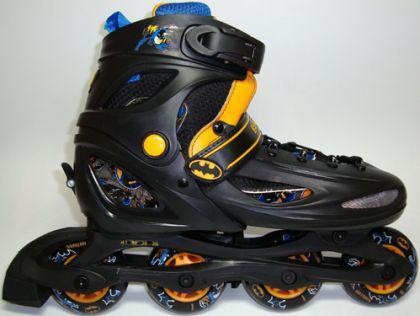 Inline Skate Kinder Roll schuhe BAT MAN 27-30 - Vorschau 3