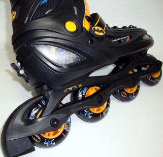 Inline Skate Kinder Roll schuhe BAT MAN 27-30 - Vorschau 4