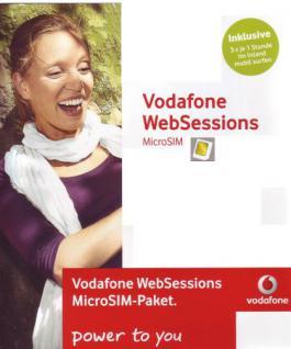 Vodafone micro- SIM CallYa Web Sessions Prepaid