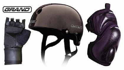 Stunt Protection Set- Sturz helm Knie Hand schutz