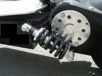 Elektro- Mofa mit Zulassung Klapp- Roller eScooter - Vorschau 3