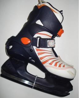 Fitness Schlitt Schuh Eishockey Ice Skates 34-36 - Vorschau 1