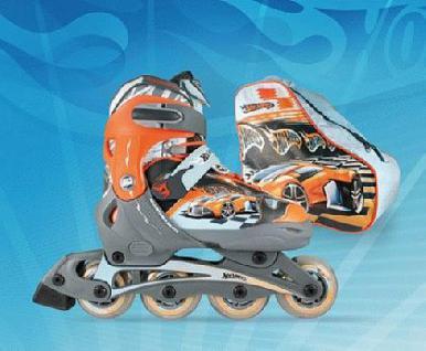 Inline Skate Trasher Rollschuhe HOT WHEELs 35-38 - Vorschau 1