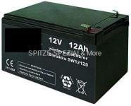 Gel Spezial AKKU 12V-12Ah für REX 2309 Elektro Roller Batterie