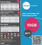 Prepaid Karte mit 10GB Internet +kostenfrei netzintern telefonieren in D-Netz Qualität