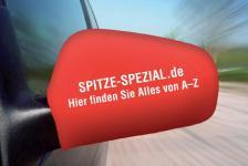 Auto- SPIEGEL ÜBERZUG- mit eigenem Motiv oder Schriftzug SELBST GESTALTEN