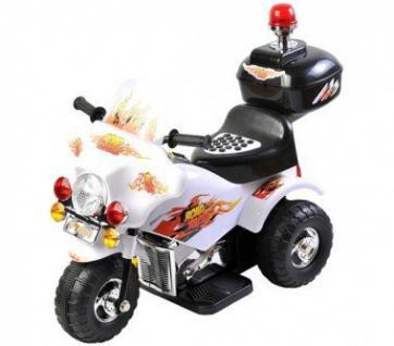Elektro Motor- Dreirad für Kinder mit Hupe und Akku - Vorschau 5