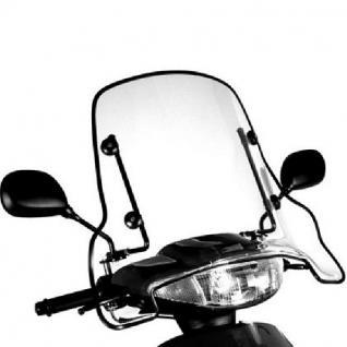 Wetter schutz scheibe Motorroller+ Motorrad Mofa - Vorschau 3