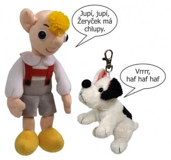 Sprechender Hurvinek und bellender Hund Zeryk