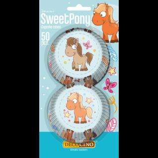Muffinförmchen Sweet Pony 50 Stück