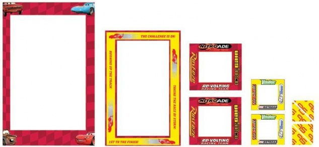 Sticker-Rahmen Cars 6 Rahmen