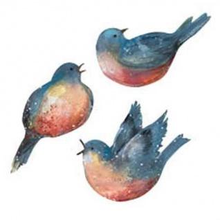 Wandaufkleber Wallies Motiv-Sticker (Cutouts) Susan Winget Bluebirds